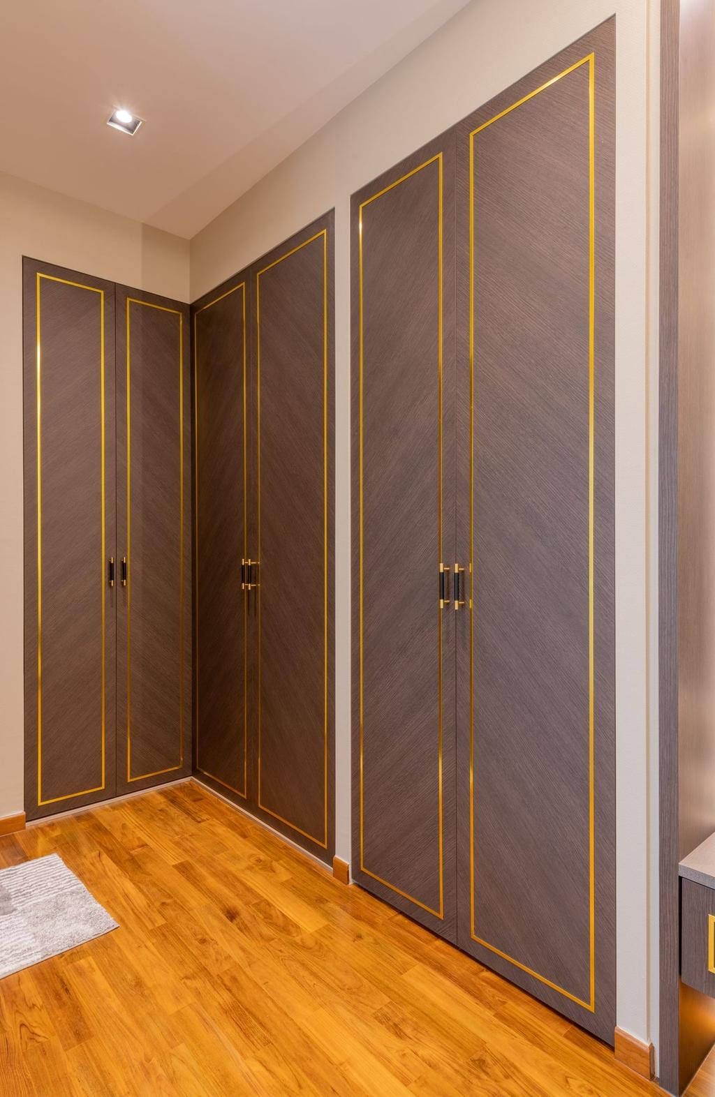 Contemporary, Condo, Bedroom, Blu Coral, Interior Designer, Thom Signature Design