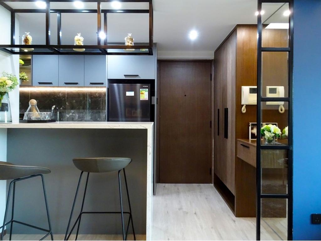 摩登, 私家樓, 飯廳, 粉嶺牽晴間, 室內設計師, 禾烽室內設計, 當代