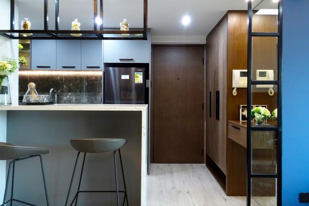 牽晴間, 禾烽室內設計, 摩登, 當代, 飯廳, 公屋/居屋