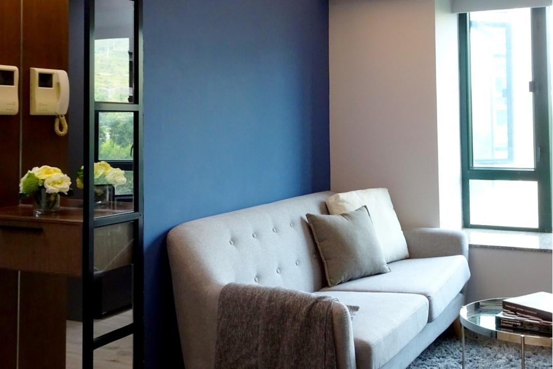 牽晴間, 禾烽室內設計, 摩登, 當代, 客廳, 公屋/居屋