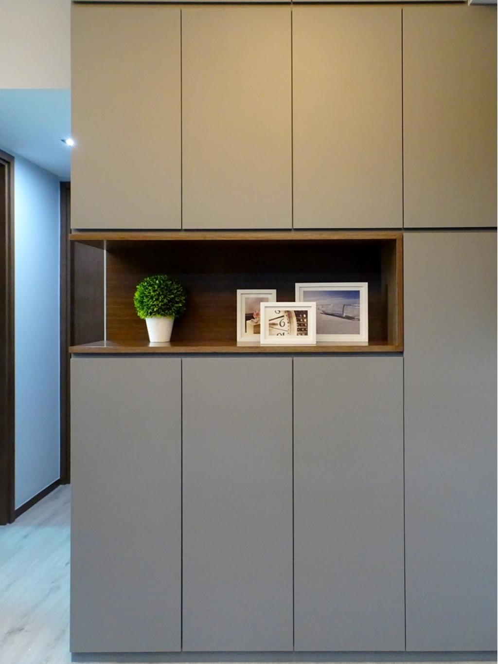 摩登, 私家樓, 客廳, 粉嶺牽晴間, 室內設計師, 禾烽室內設計, 當代