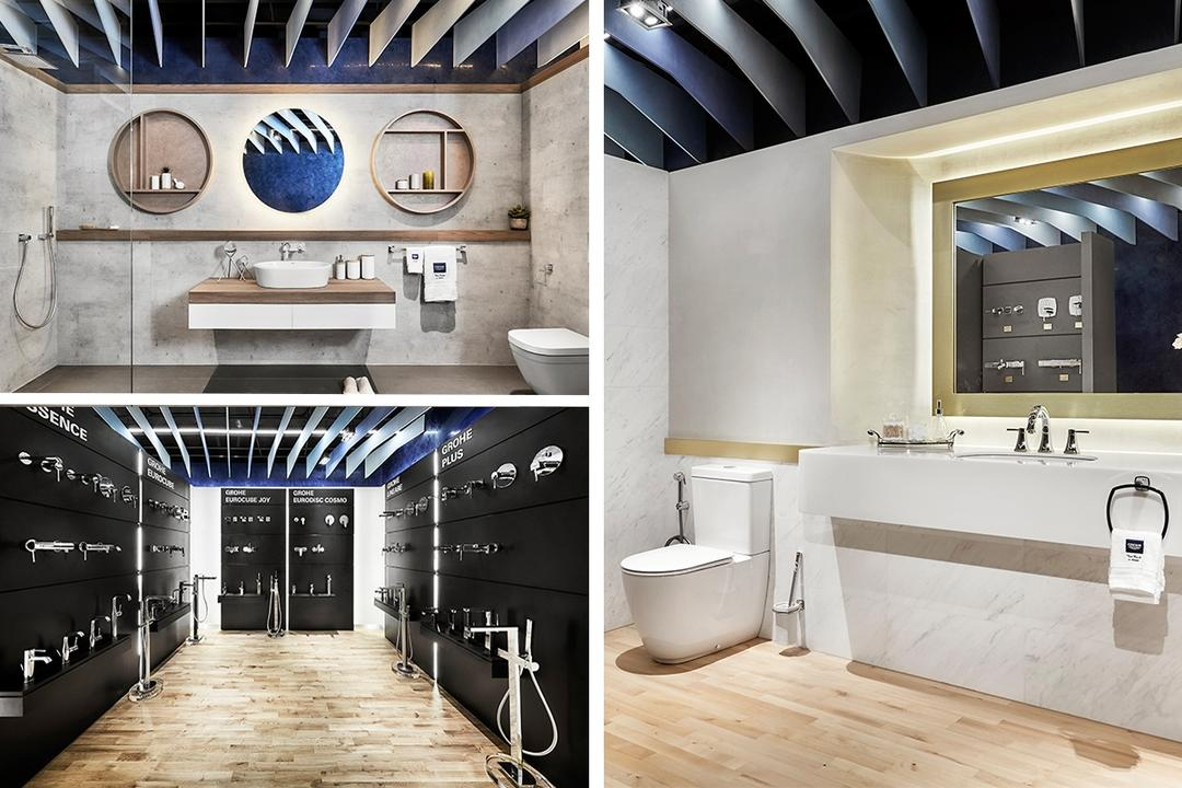GROHE Gallery concept store Singapore bathroom fittings fixtures buy 1