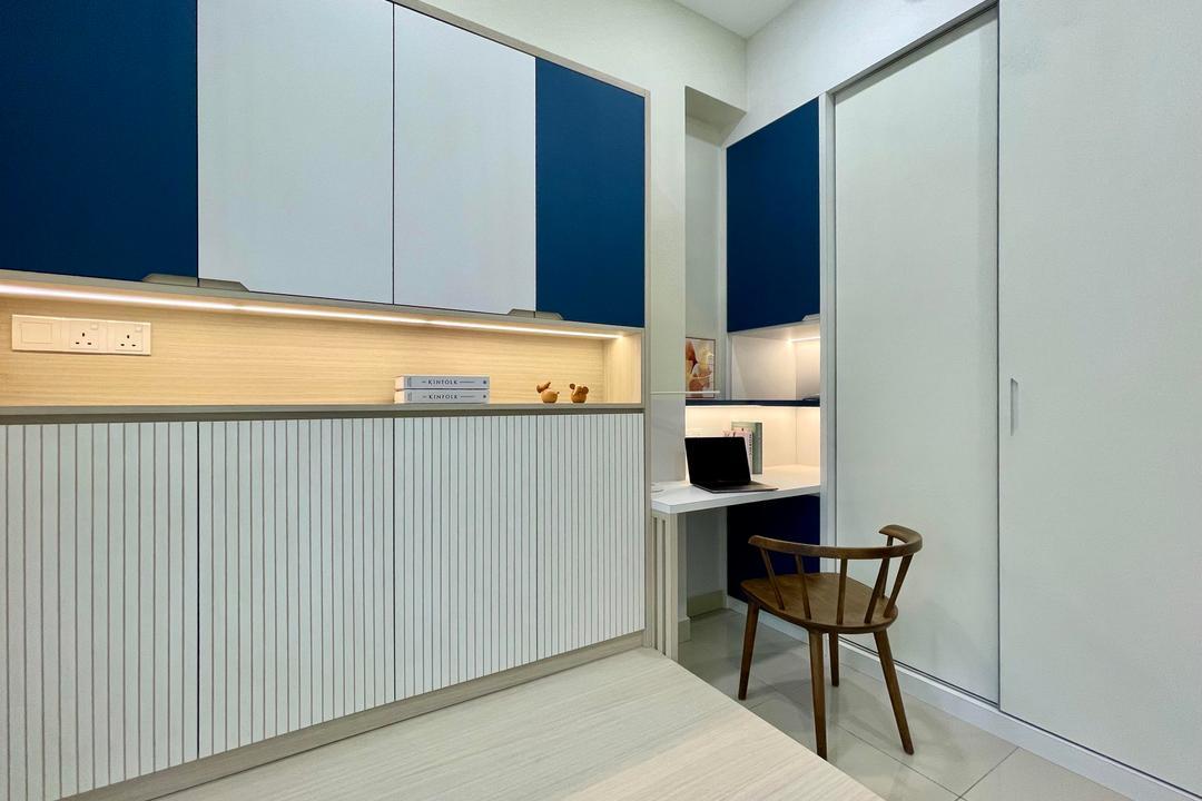 Relau, Penang, Catappa Design Studio, Scandinavian, Condo