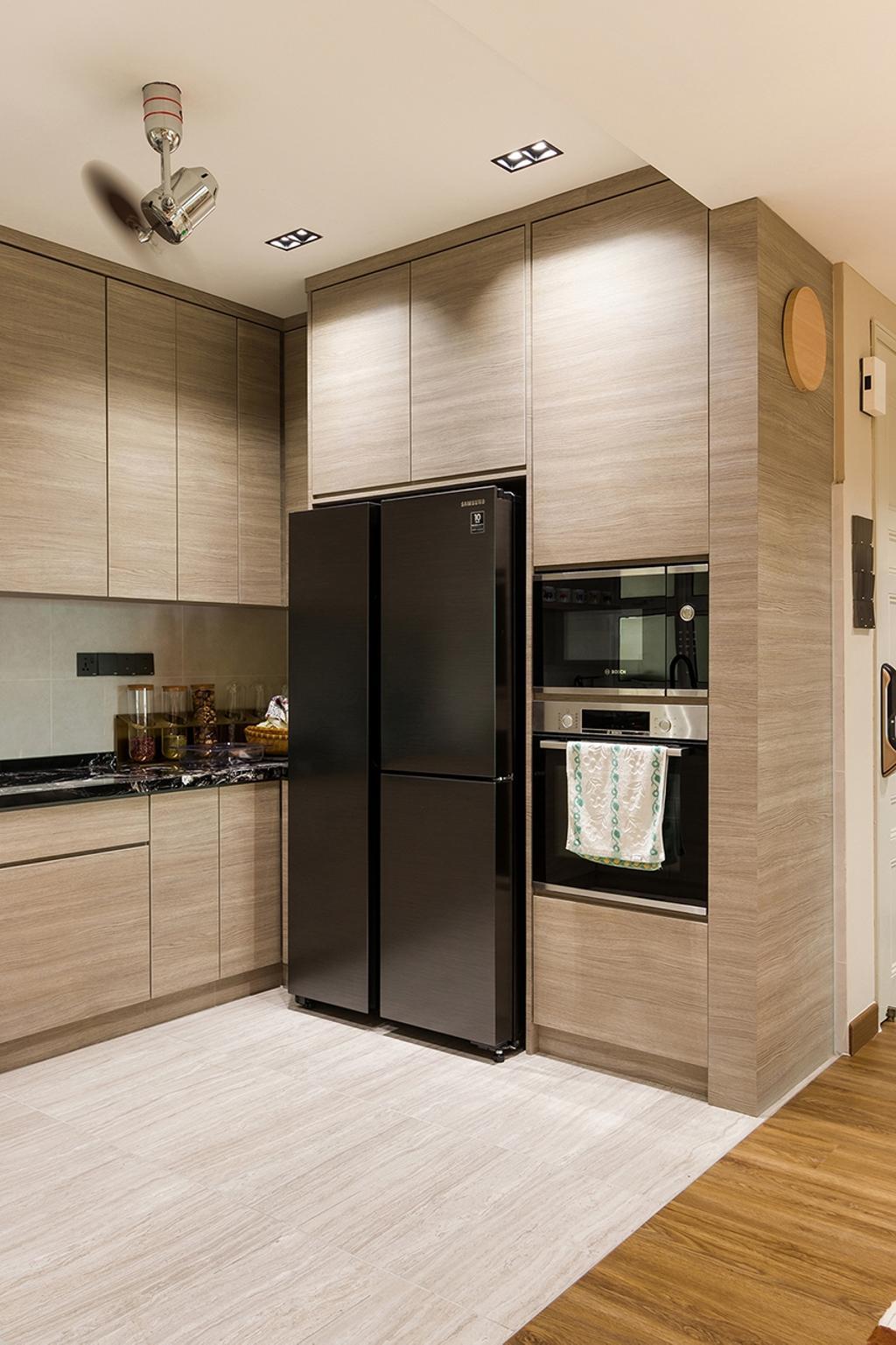 Modern, Condo, Sterling Condominium, Kelana Jaya, Interior Designer, Airhost, Contemporary