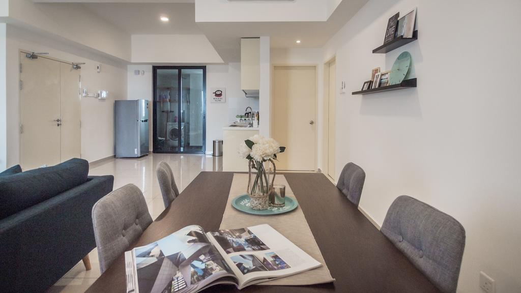 Modern, Condo, Encorp Strand Residence, Kota damansara, Interior Designer, Airhost