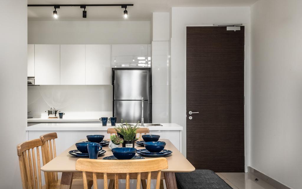 Modern, Condo, H2O Residence, Ara Damansara, Interior Designer, Airhost