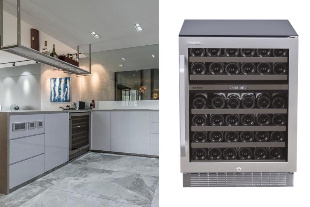 wine cabinet, wine chiller, wine fridge