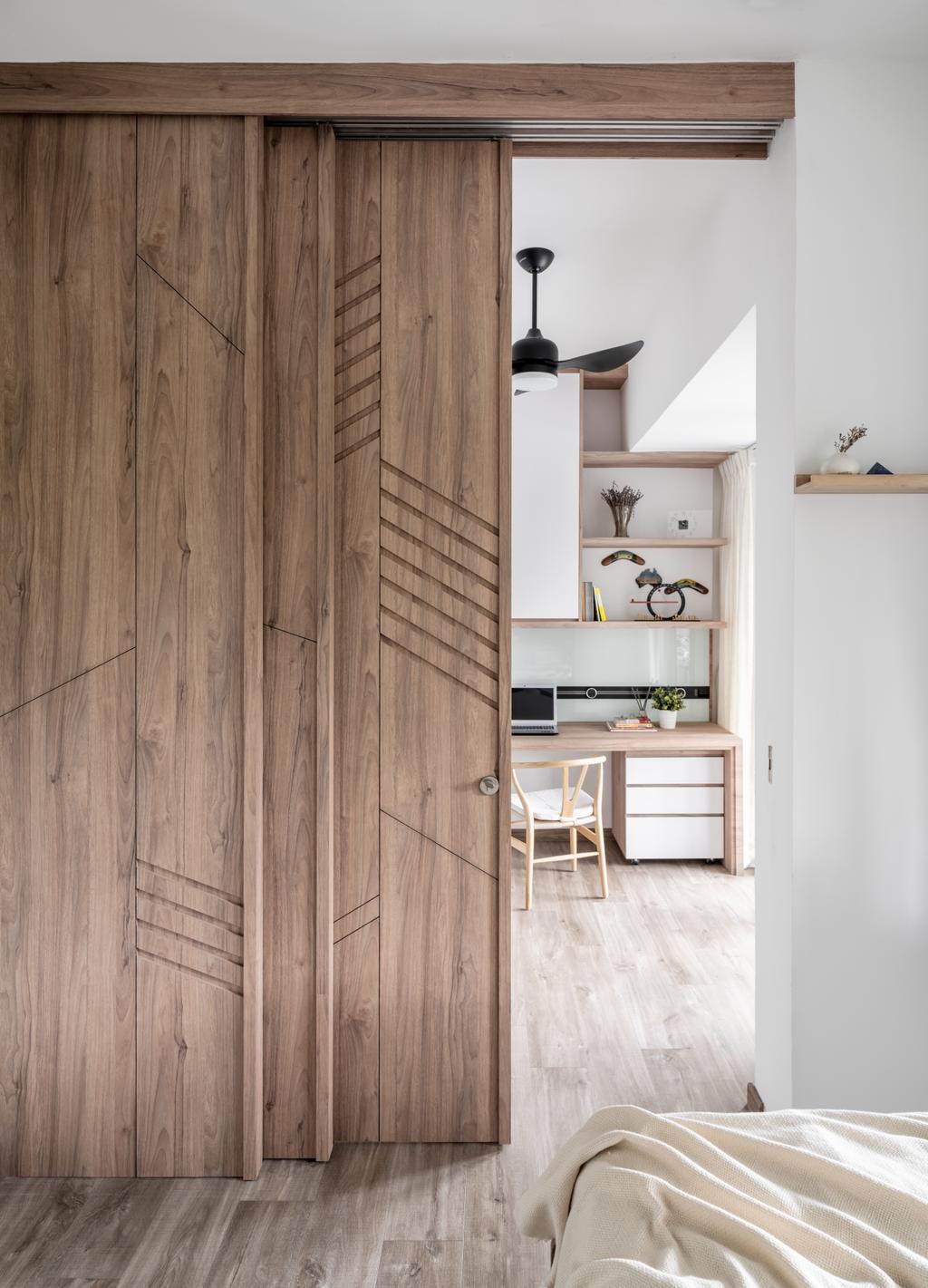 Modern, Condo, Bedroom, H2O Residences, Interior Designer, Weiken.com, Scandinavian