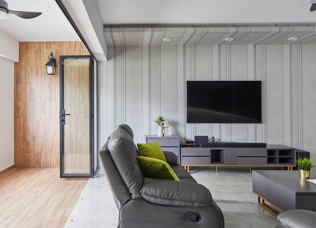 Contemporary, HDB, Balcony, Pending Road, Interior Designer, i-Chapter
