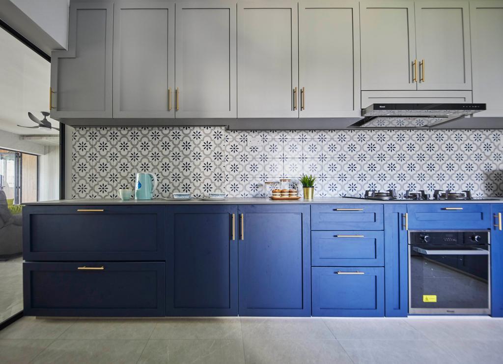 Contemporary, HDB, Kitchen, Pending Road, Interior Designer, i-Chapter