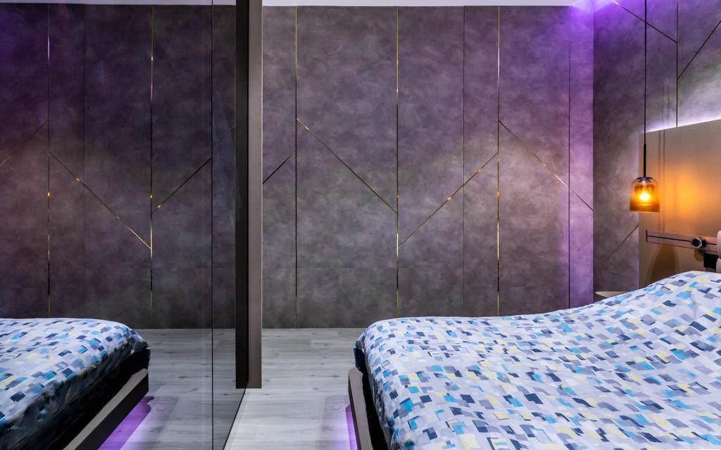 Modern, Condo, Bedroom, The Waterina, Interior Designer, Studio S Sq