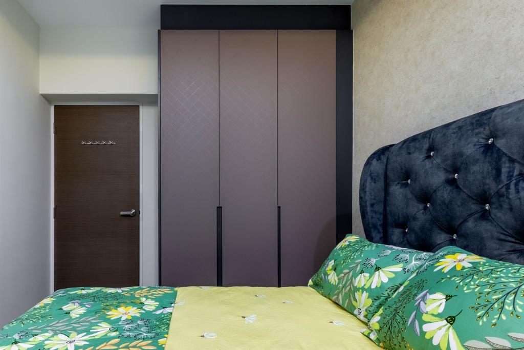 Contemporary, HDB, Bedroom, Compassvale Street, Interior Designer, The Interior Place
