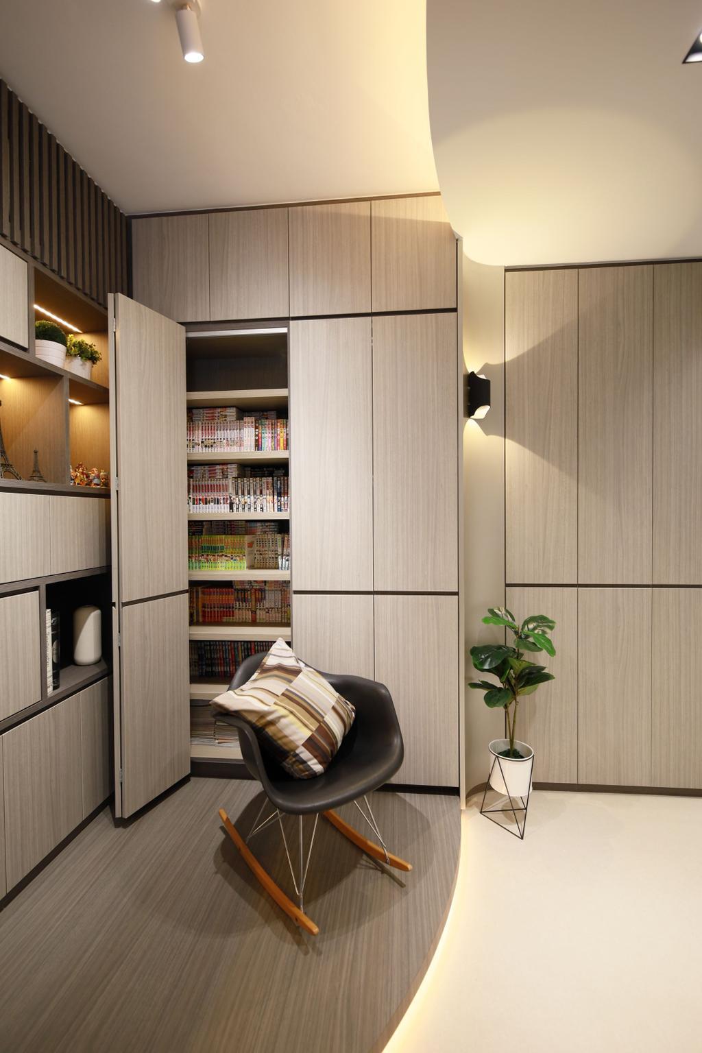 Contemporary, Condo, Living Room, Hundred Palms Residences, Interior Designer, Thom Signature Design