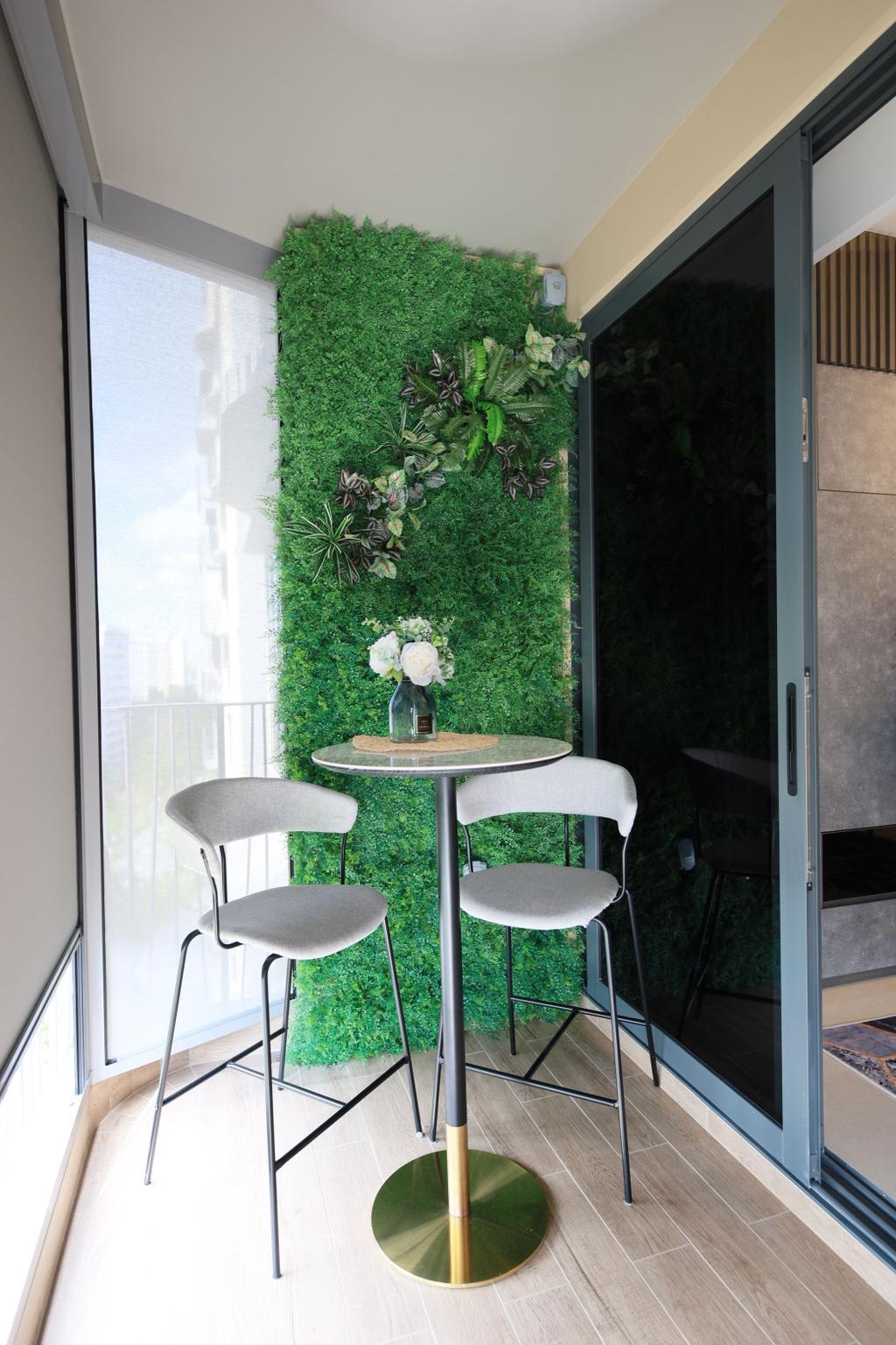 Contemporary, Condo, Balcony, Hundred Palms Residences, Interior Designer, Thom Signature Design