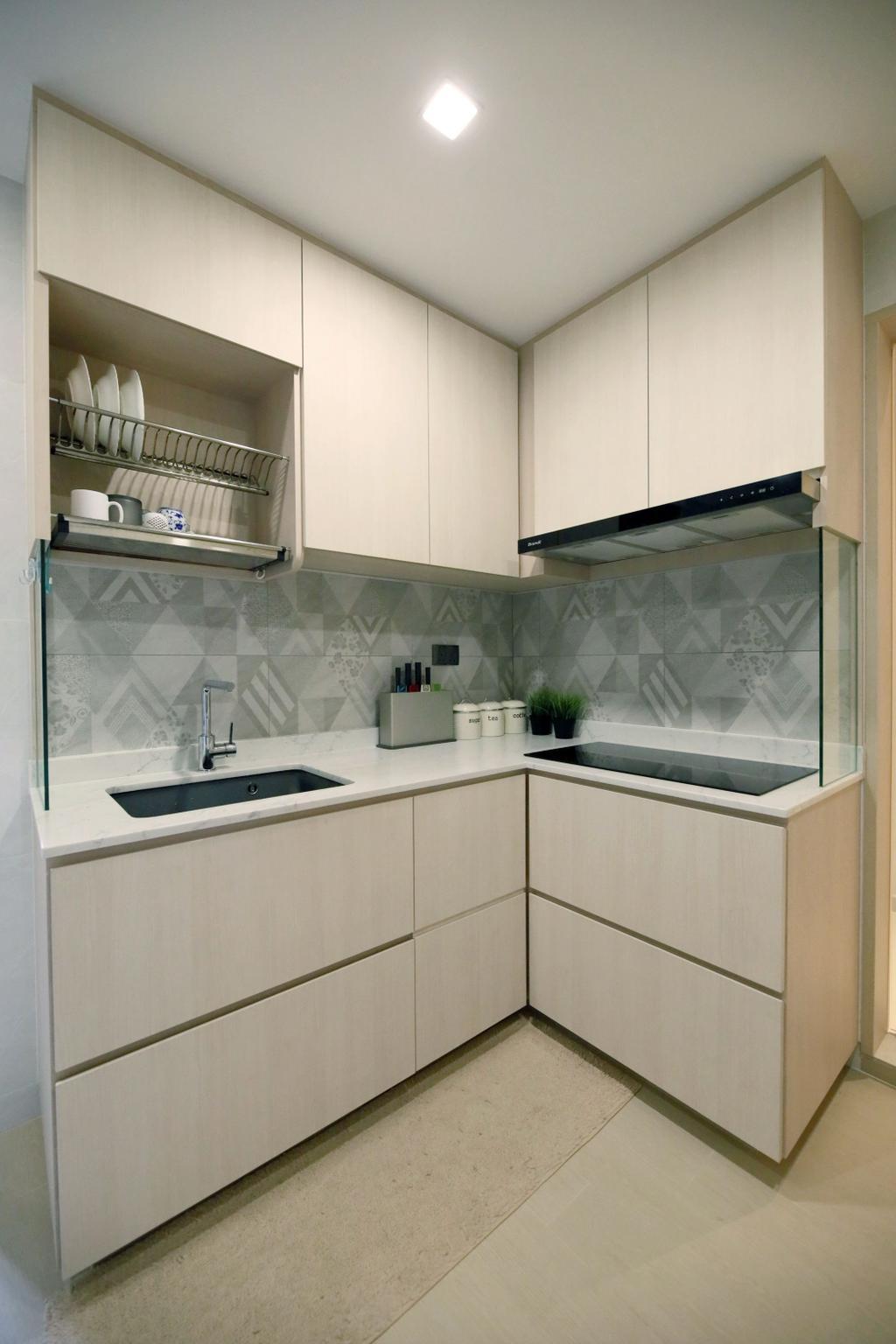 Modern, Condo, Kitchen, Summervale Park, Interior Designer, Thom Signature Design
