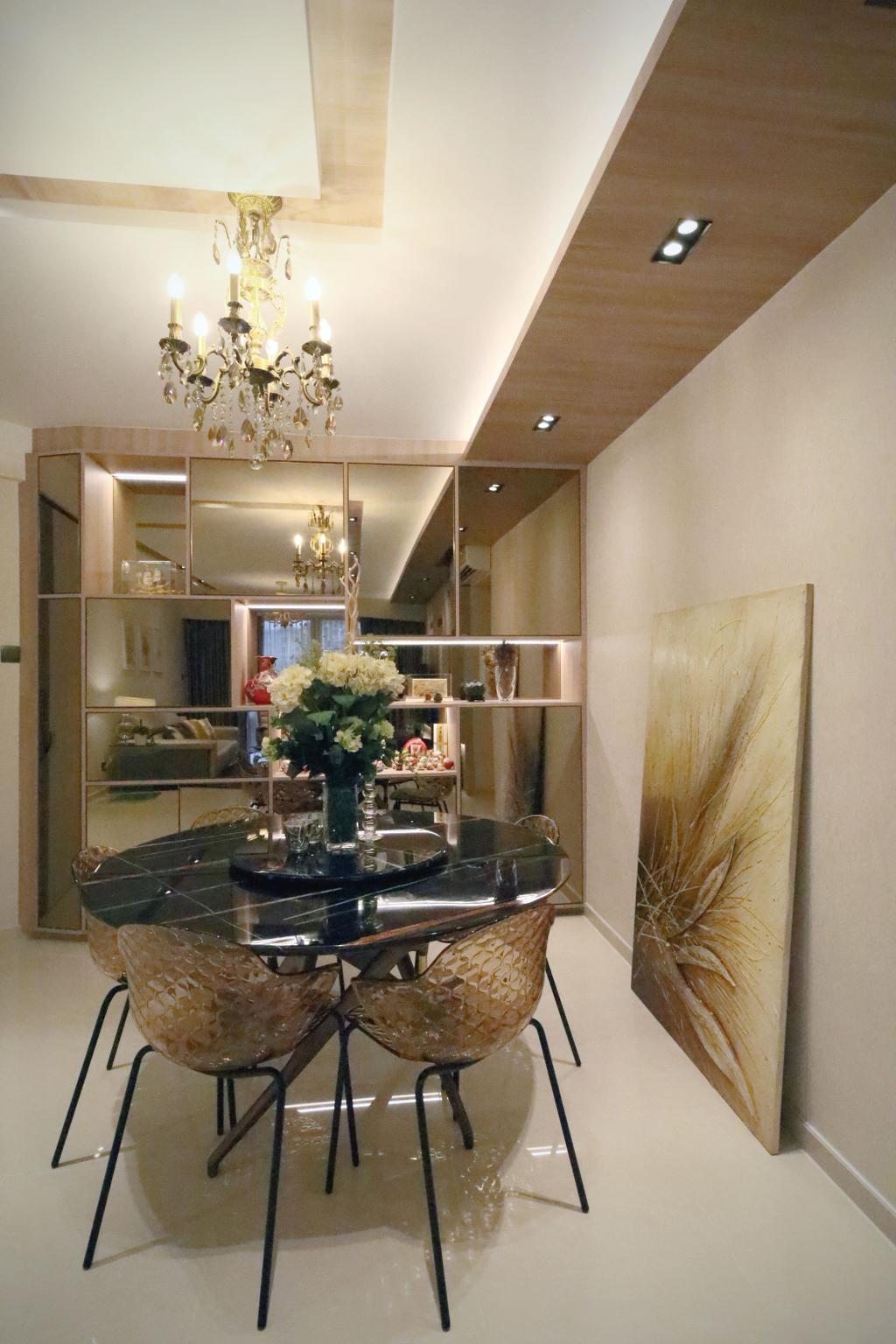 Modern, Condo, Dining Room, Summervale Park, Interior Designer, Thom Signature Design
