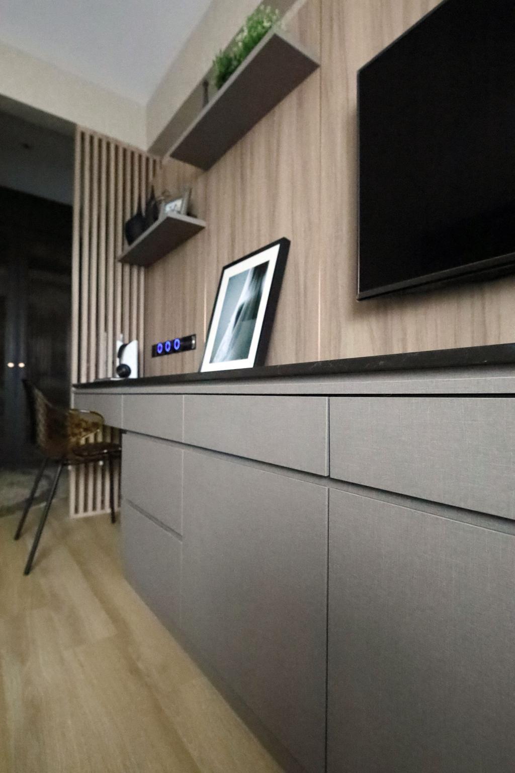 Modern, Condo, Study, Summervale Park, Interior Designer, Thom Signature Design
