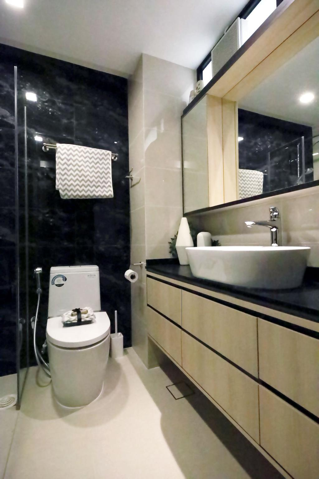 Modern, Condo, Bathroom, Summervale Park, Interior Designer, Thom Signature Design