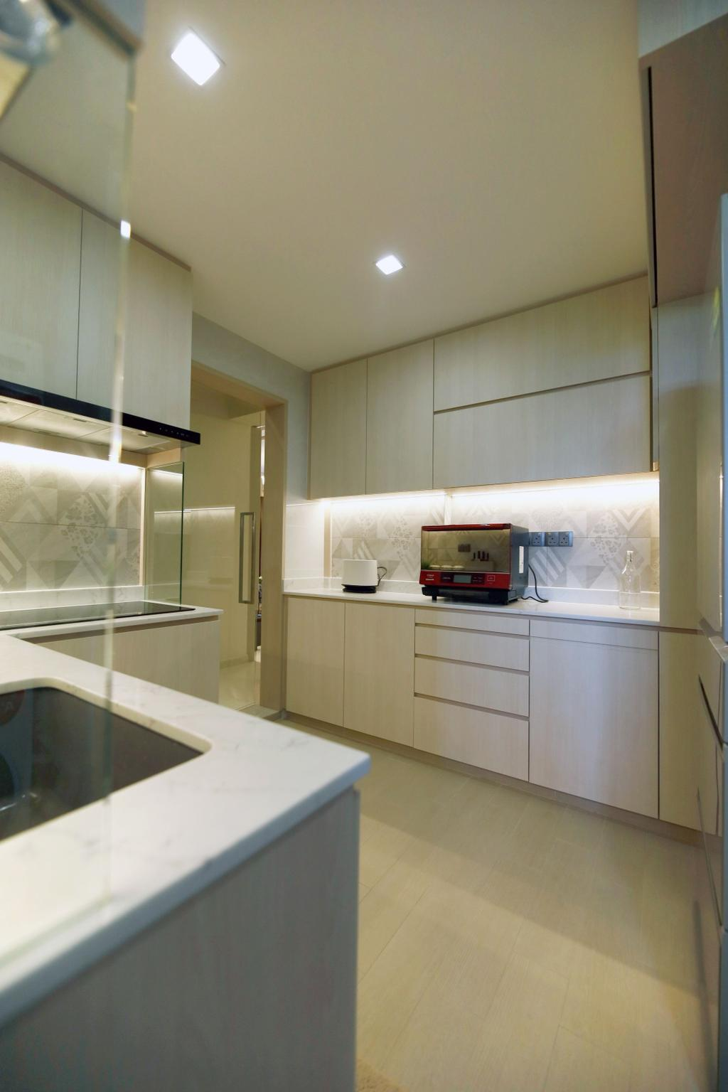 Modern, Condo, Kitchen, Summervale Park, Interior Designer, Thom Signature Design