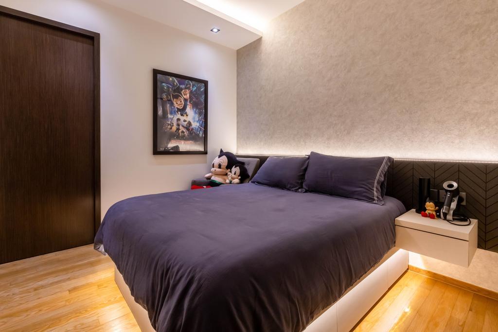 Contemporary, Condo, Bedroom, Botanique at Bartley, Interior Designer, Space Define Interior