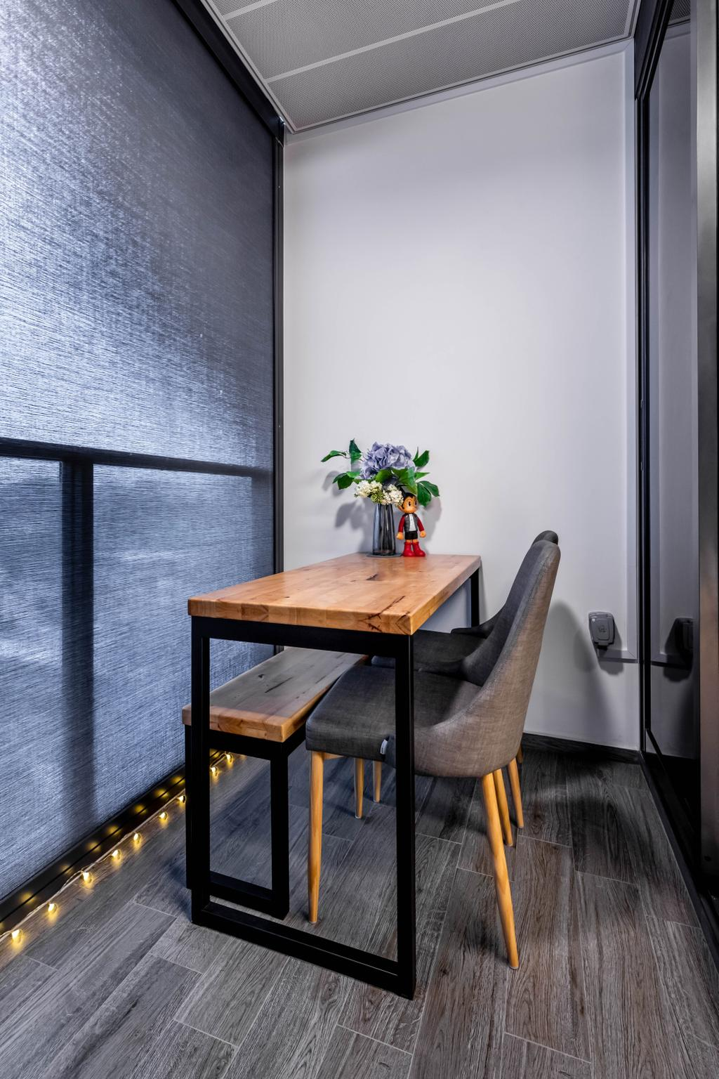 Contemporary, Condo, Botanique at Bartley, Interior Designer, Space Define Interior