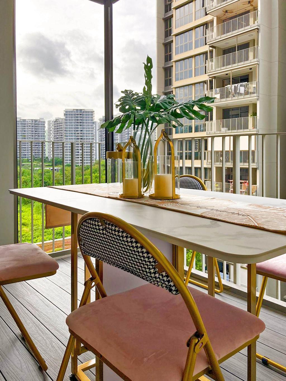 Modern, HDB, Balcony, Rivercove Residences, Interior Designer, Mr Shopper Studio, Contemporary