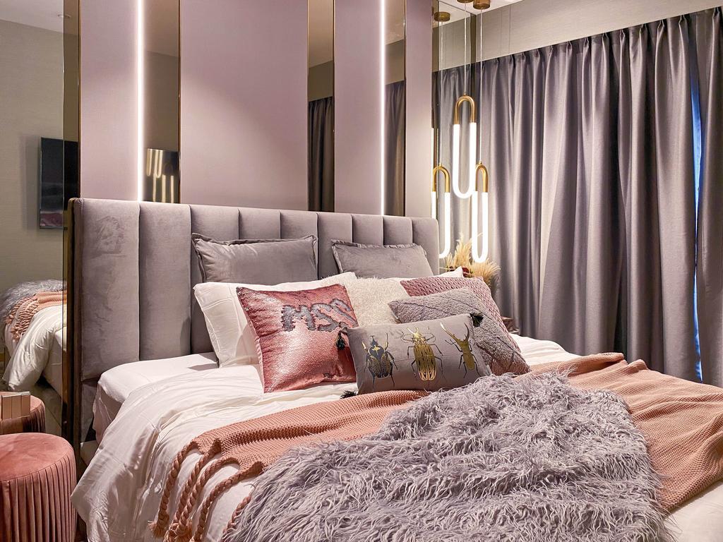 Modern, HDB, Bedroom, Rivercove Residences, Interior Designer, Mr Shopper Studio, Contemporary