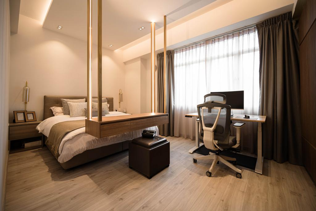 Contemporary, Condo, Bedroom, The Woodgrove, Interior Designer, Mr Shopper Studio