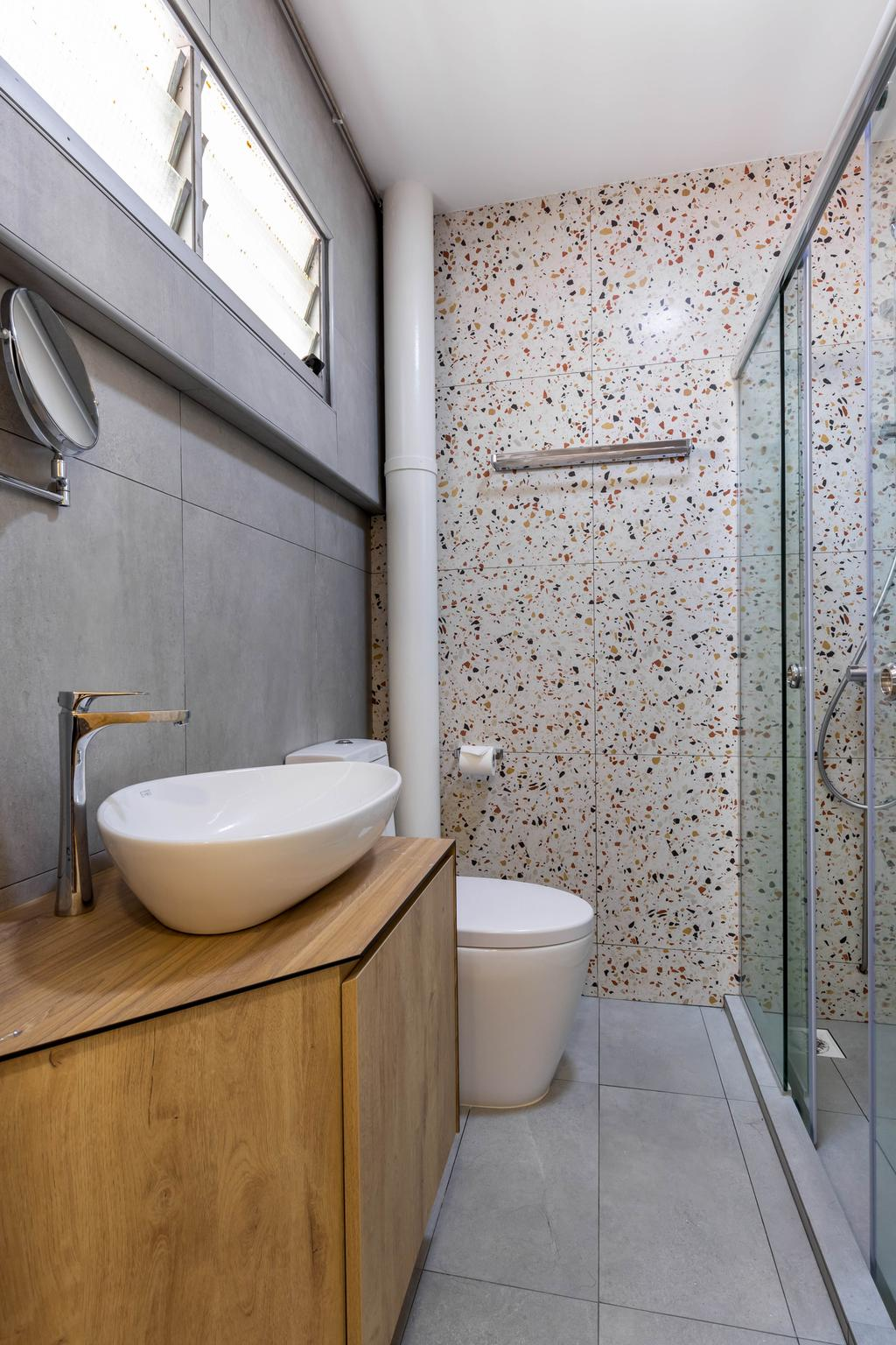 Modern, HDB, Bathroom, Bishan Street 24, Interior Designer, Arteloft, Scandinavian