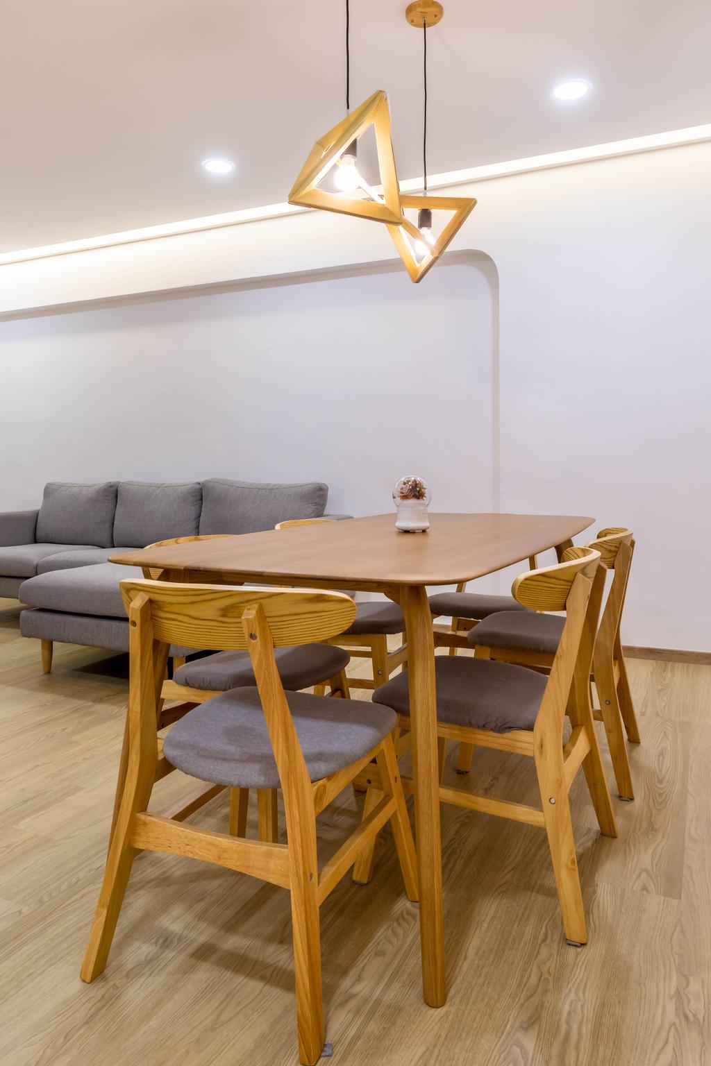 Modern, HDB, Dining Room, Bishan Street 24, Interior Designer, Arteloft, Scandinavian