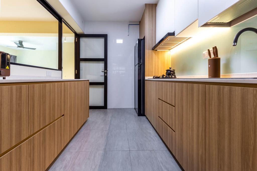 Contemporary, HDB, Kitchen, Anchorvale Lane, Interior Designer, Arteloft