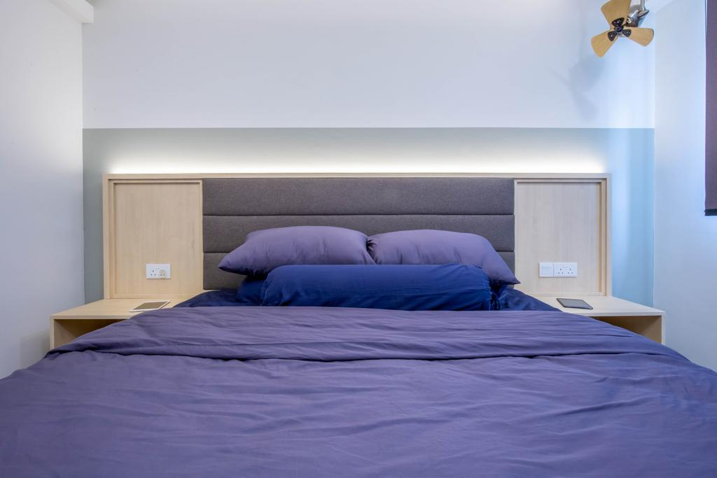 Modern, HDB, Bedroom, Yishun Avenue 9, Interior Designer, Arteloft, Scandinavian