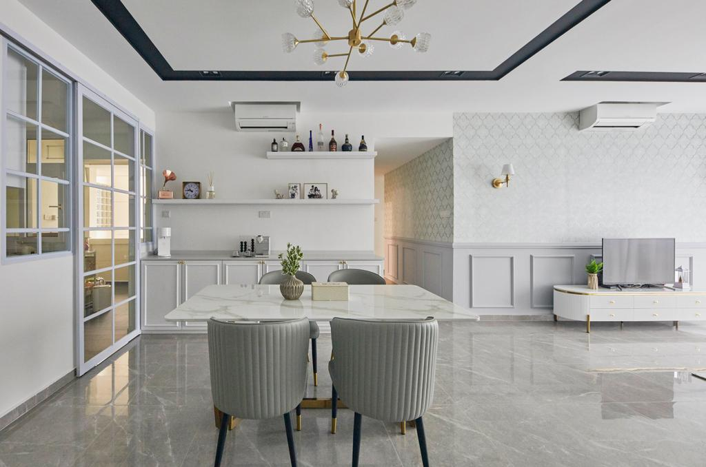 Modern, Condo, Dining Room, Summerhill, Interior Designer, i-Chapter