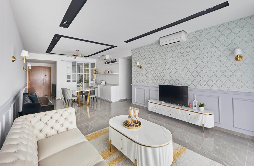 Modern, Condo, Living Room, Summerhill, Interior Designer, i-Chapter