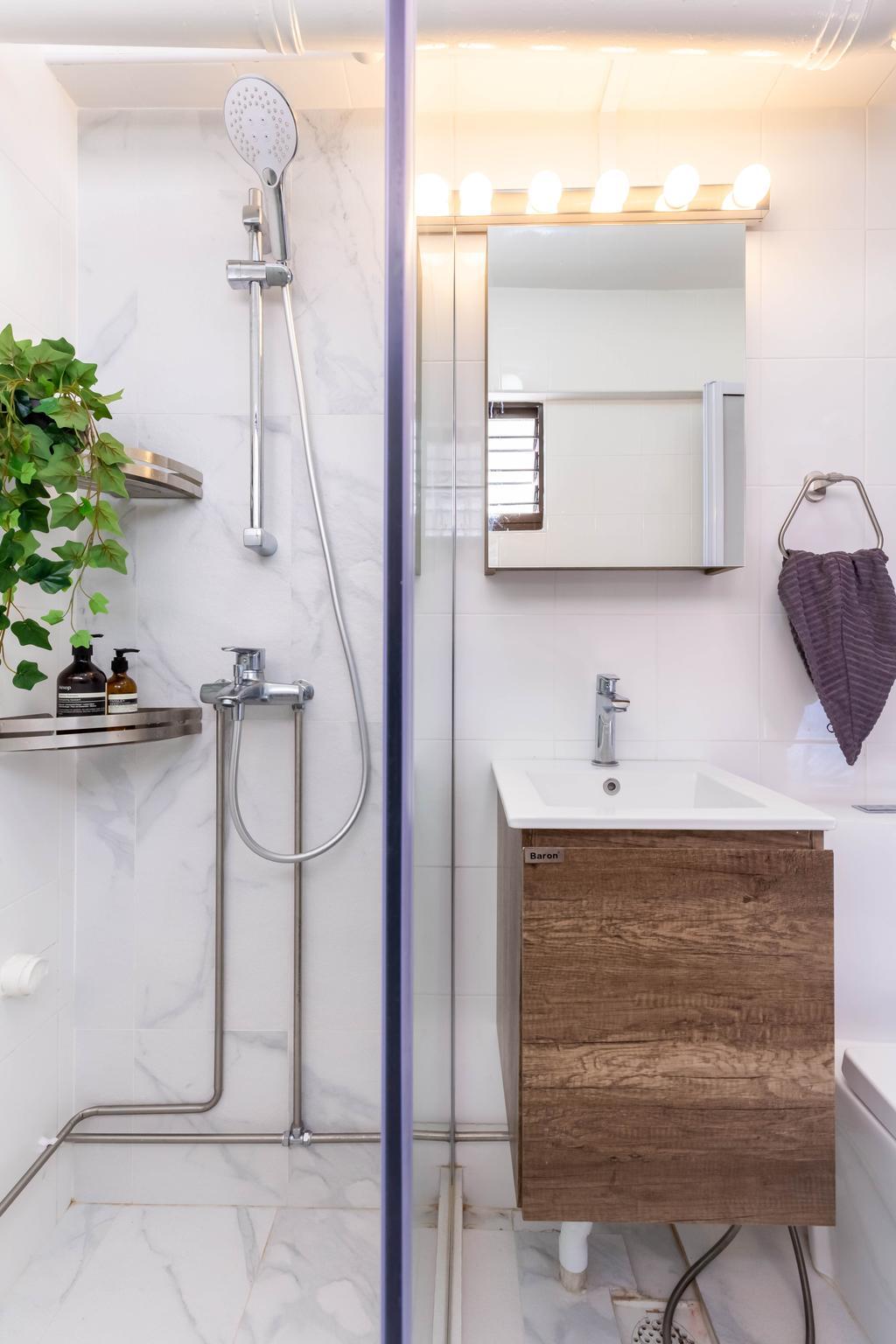 Contemporary, HDB, Bathroom, Potong Pasir Avenue 1, Interior Designer, Craftsmen Atelier