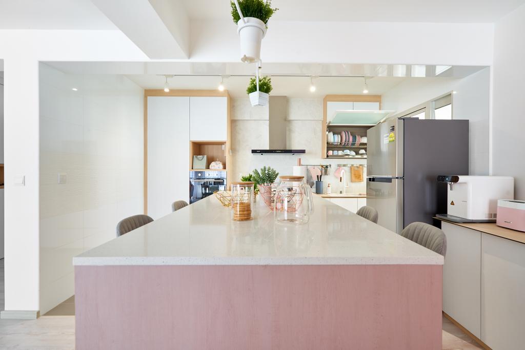 Scandinavian, HDB, Kitchen, Sumang Walk, Interior Designer, Le Interior Affairs