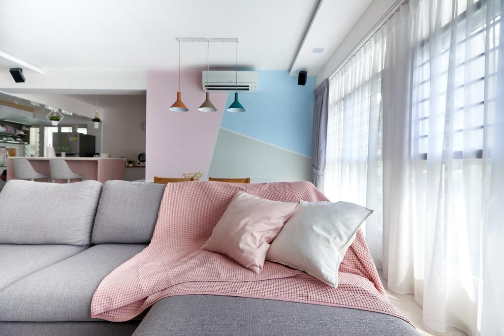 Scandinavian, HDB, Living Room, Sumang Walk, Interior Designer, Le Interior Affairs