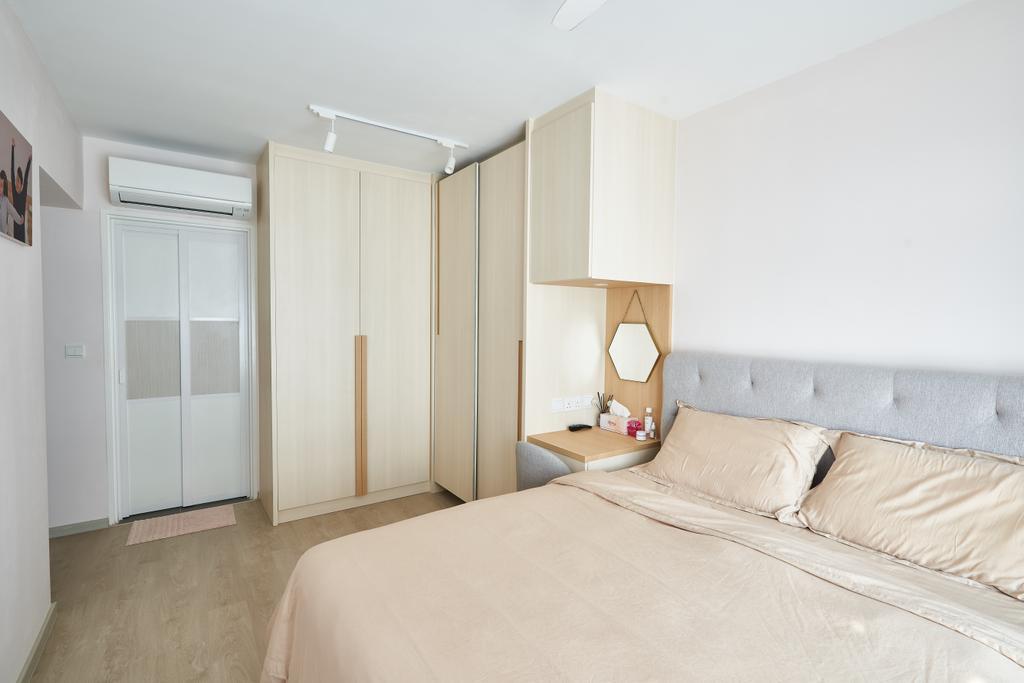 Scandinavian, HDB, Bedroom, Sumang Walk, Interior Designer, Le Interior Affairs