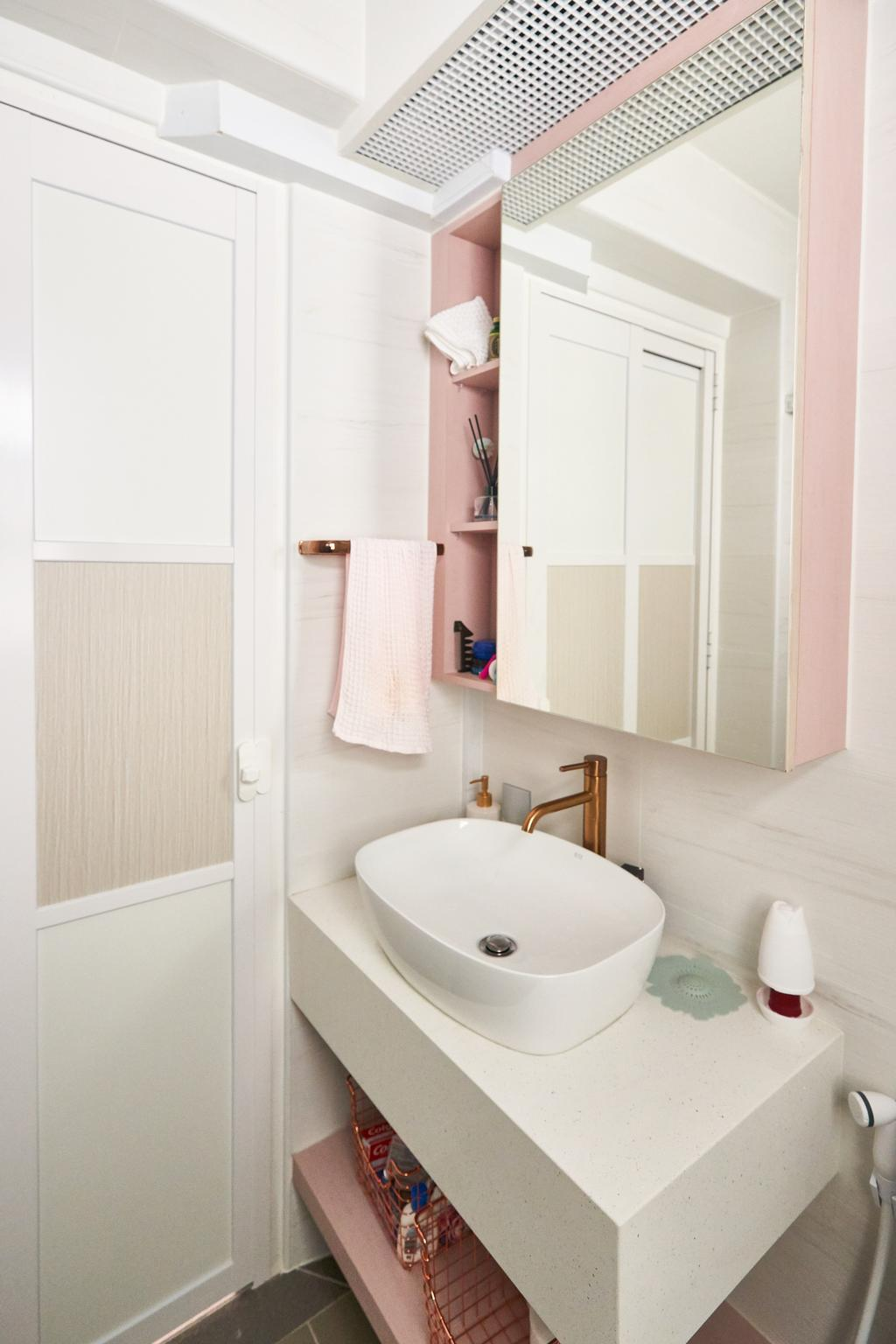 Scandinavian, HDB, Bathroom, Sumang Walk, Interior Designer, Le Interior Affairs