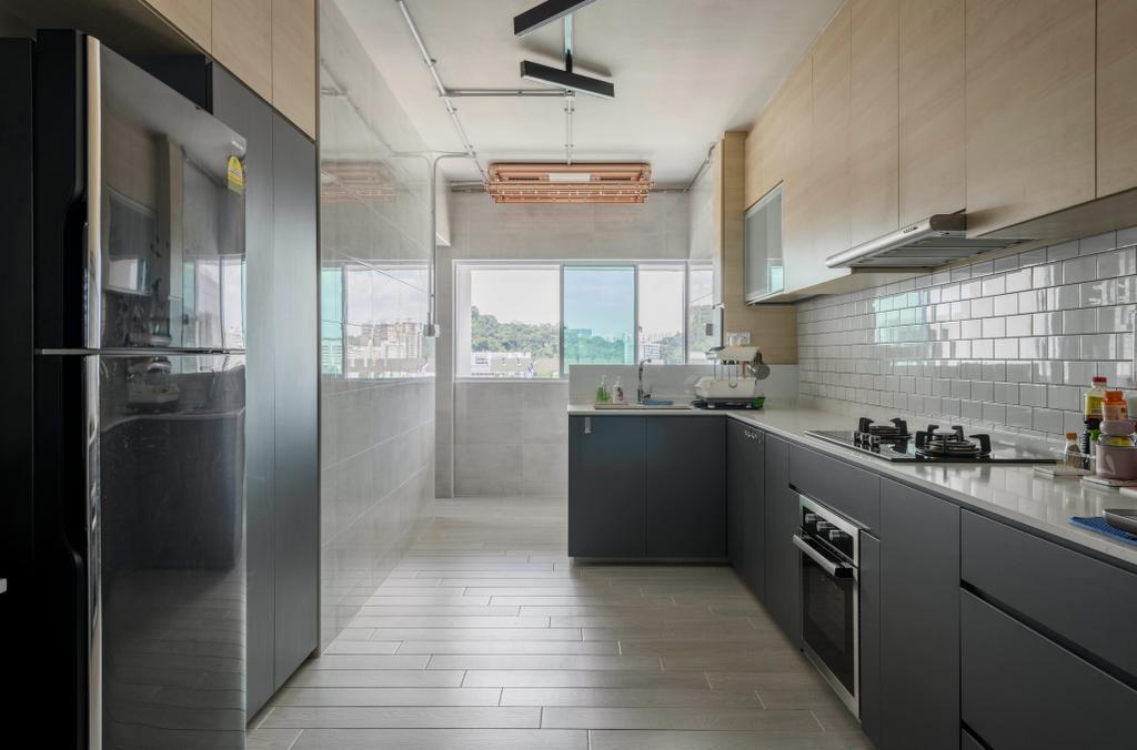 Contemporary, HDB, Bukit Purmei, Interior Designer, Butler Interior