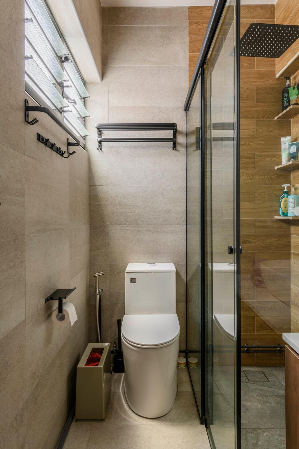 Contemporary, HDB, Bathroom, Bukit Purmei, Interior Designer, Butler Interior