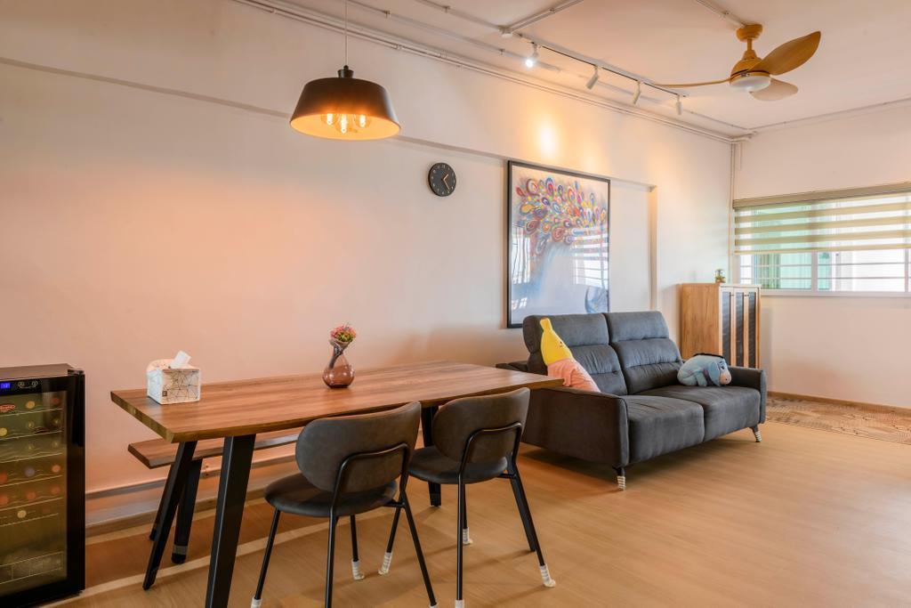 Contemporary, HDB, Dining Room, Bukit Purmei, Interior Designer, Butler Interior
