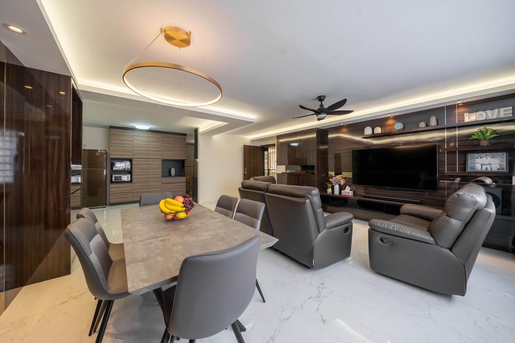 Modern, HDB, Living Room, Pasir Ris Drive 10, Interior Designer, Design 4 Space