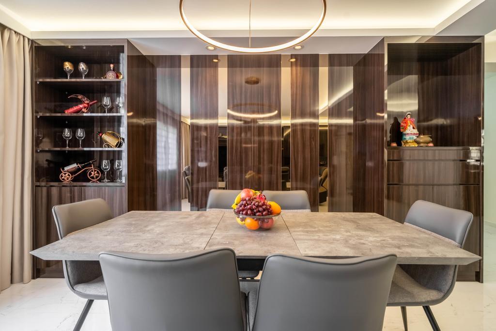 Modern, HDB, Dining Room, Pasir Ris Drive 10, Interior Designer, Design 4 Space