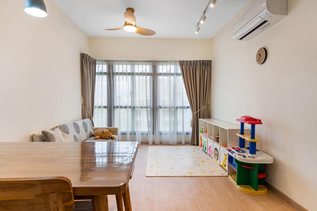 Modern, HDB, Living Room, Bidadari Park Drive, Interior Designer, Zenith Arc, Scandinavian