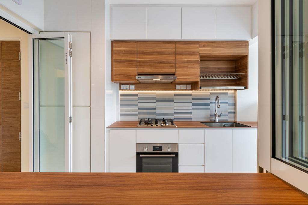 Modern, HDB, Kitchen, Bidadari Park Drive, Interior Designer, Zenith Arc, Scandinavian