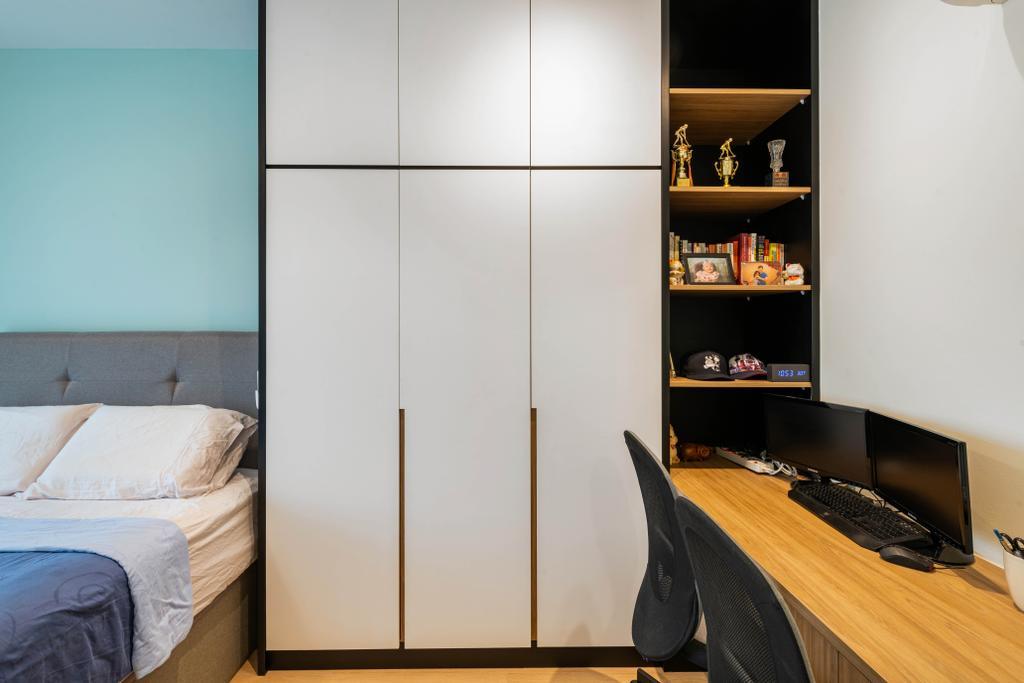 Modern, HDB, Bedroom, Bidadari Park Drive, Interior Designer, Zenith Arc, Scandinavian
