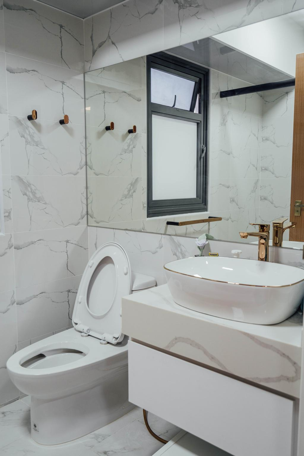 Modern, HDB, Bathroom, Clementi Avenue 4, Interior Designer, Le Interior Affairs