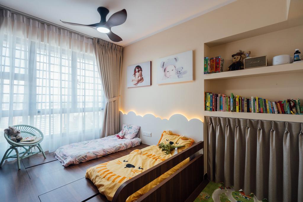 Modern, HDB, Bedroom, Clementi Avenue 4, Interior Designer, Le Interior Affairs