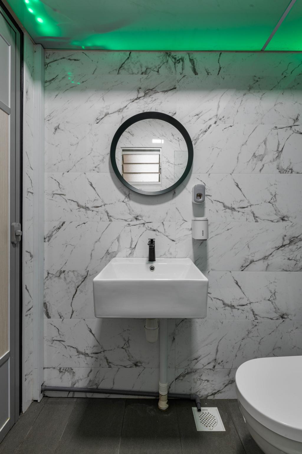 Modern, HDB, Bathroom, Choa Chu Kang Avenue 7, Interior Designer, Tab Gallery, Contemporary